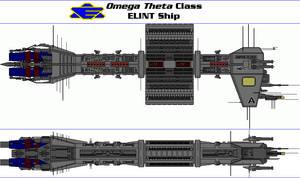 Omega Theta Class ELINT Ship by MarcusStarkiller