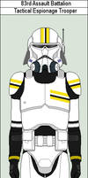 83rd Assault Battalion Espionage Trooper