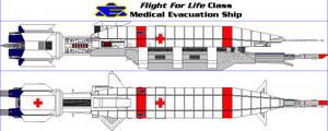 Flight For Life Class Medical Evacuation Ship