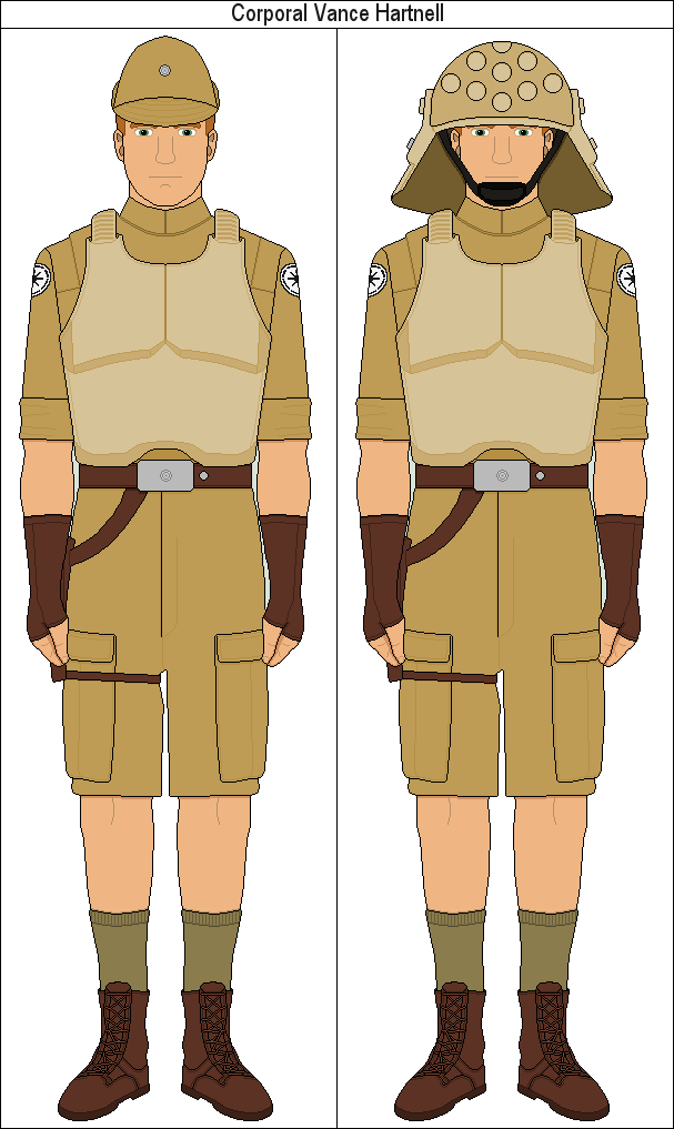 Corporal Vance Hartnell by MarcusStarkiller
