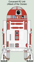 Coruscant R2 Unit AotC