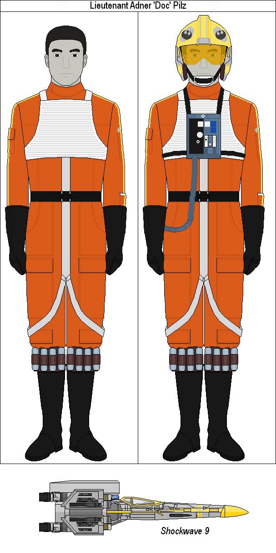 Lieutenant Adner 'Doc' Pilz by MarcusStarkiller