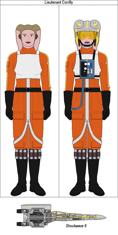 Lieutenant Corrilly by MarcusStarkiller