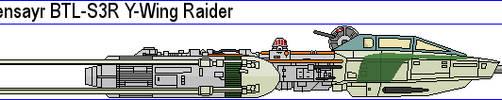 Koensayr BTL-S3R Y-Wing Raider by MarcusStarkiller