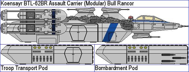 Koensayr BTL-62BR Assault Carrier Bull Rancor by MarcusStarkiller