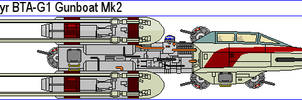 Koensayr BTA-G1 Gunboat Mk2