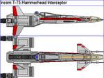 Incom T-75 Hammerhead Interceptor