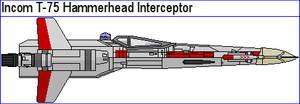 Incom T-75 Hammerhead Interceptor by MarcusStarkiller