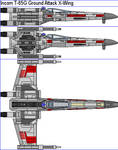 Incom T-65G Ground Attack X-Wing
