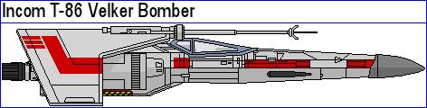 Incom T-86 Velker Bomber by MarcusStarkiller