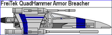 FreiTek QuadHammer Armor Breacher by MarcusStarkiller