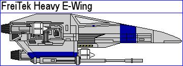 FreiTek Heavy E-Wing by MarcusStarkiller