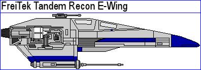 FreiTek Tandem Recon E-Wing by MarcusStarkiller
