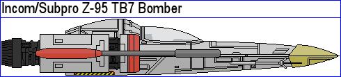 Incom Subpro Z-95 TB7 Bomber by MarcusStarkiller