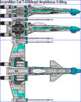 Incom Mon Cal T-65BAmph Amphibious X-Wing