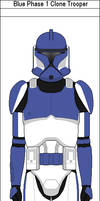 Blue Phase 1 Clone Trooper