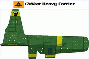 Cidikar Heavy Carrier by MarcusStarkiller