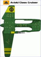 Avioki Class Cruiser by MarcusStarkiller