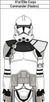 41st Elite Corps Commander (Hasbro)