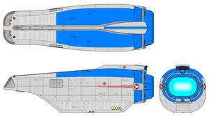 Thrudeck Carrier Hull