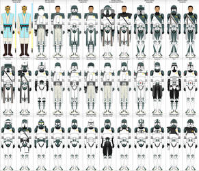 clone legions favourites by ladtec on DeviantArt