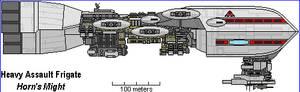 Heavy Assault Frigate Horn's Might