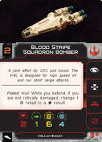Blood Stripe Squadron Bomber