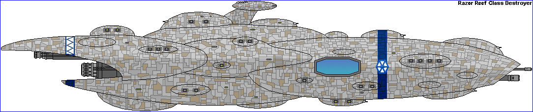 Razor Reef Class Destroyer CIS