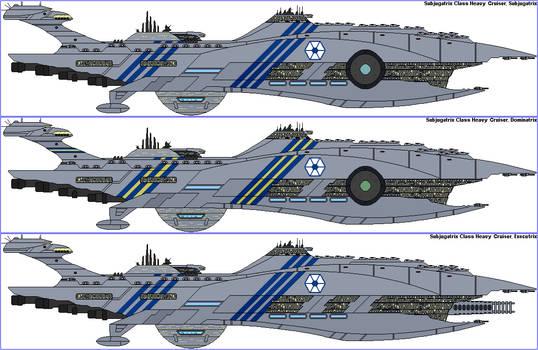 Subjugatrix Class Heavy Cruiser