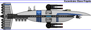 Razordrake Class Frigate