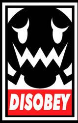 Sombra Disobey by Colegagendarios