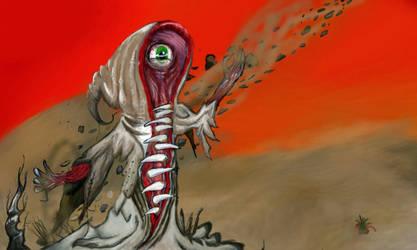 Demonio del desierto by Colegagendarios