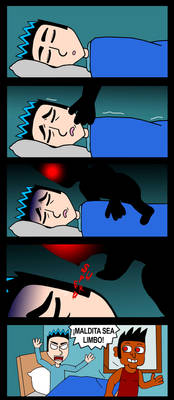 Sleep paralysis.