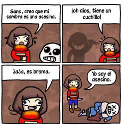 Comic Underfail by Colegagendarios