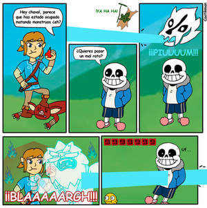 Comic Sans Breath Of The Wild