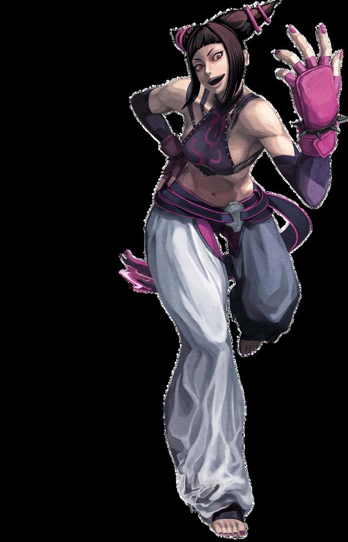 Juri Street Fighter X Tekken render by AkatsukiAkuma53421