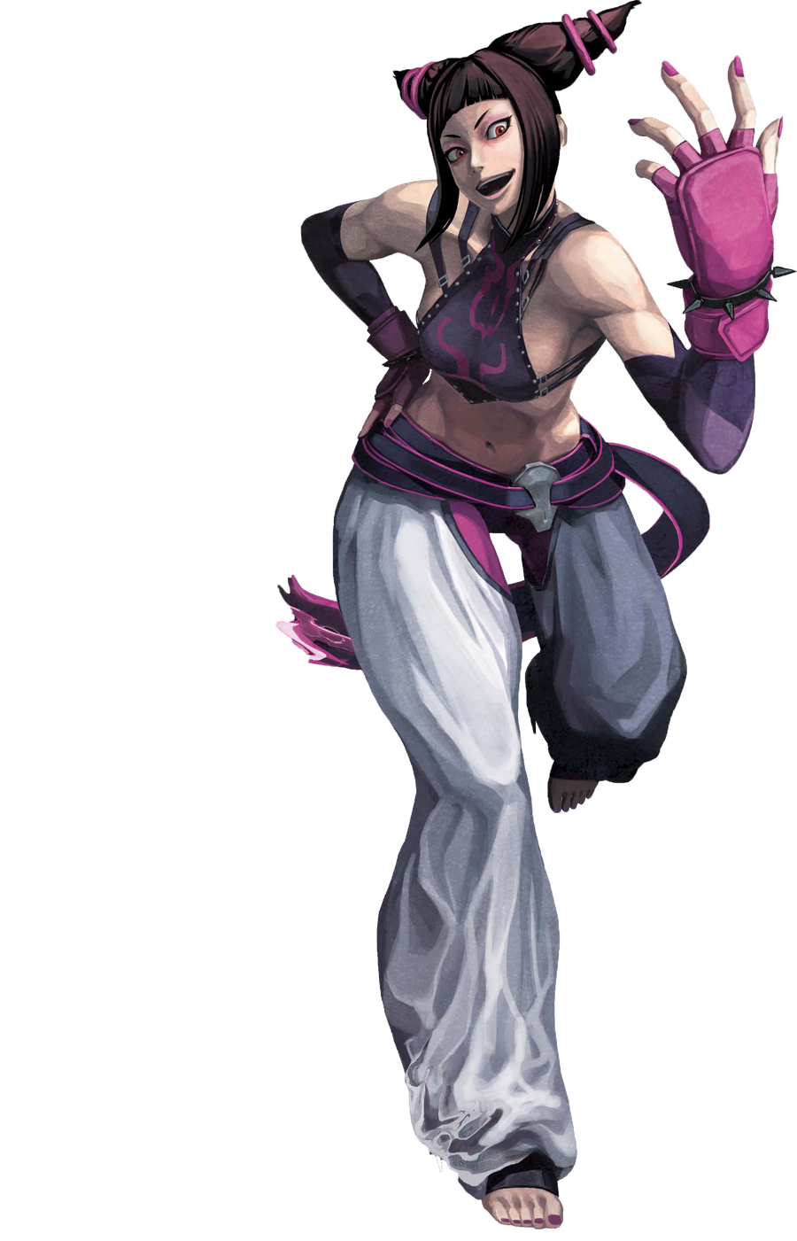 Kit - Juri [Cross] Juri_street_fighter_x_tekken_render_by_akatsukiakuma53421-d4n8149