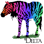 Colorful Zebra by Crystal852