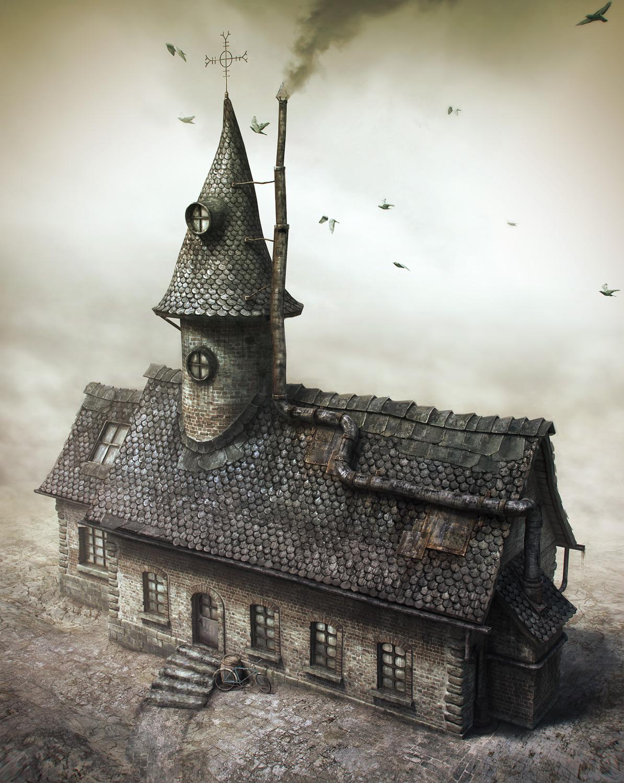 Herve's Mansion by pixogene