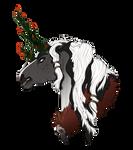 Commission   Rose Bust for Data-Bull