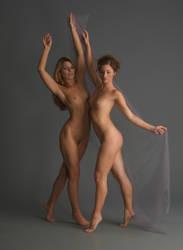 Dancers - 5 by mjranum-stock