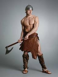 Teaser: Barbarian Warrior