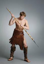 Barbarian Warrior - 19 by mjranum-stock