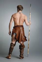 Barbarian Warrior - 23 by mjranum-stock