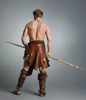 Barbarian Warrior - 24 by mjranum-stock