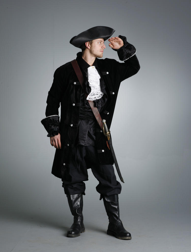 Capt Darkness - 3 by mjranum-stock