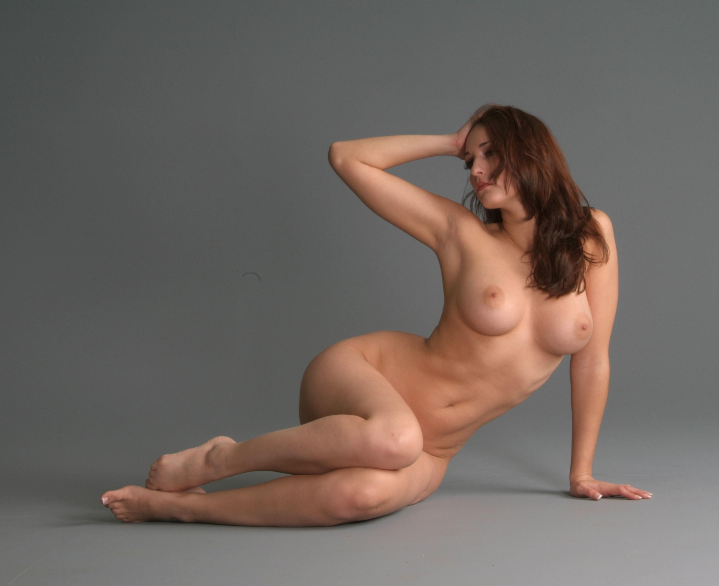 Nude models in sex pose porn model