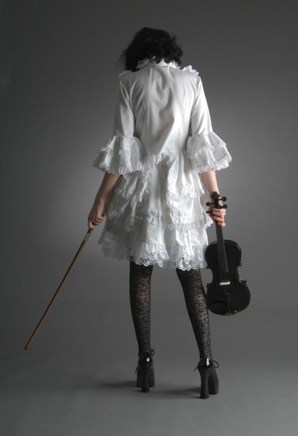 Lil White Goth Grl - 35