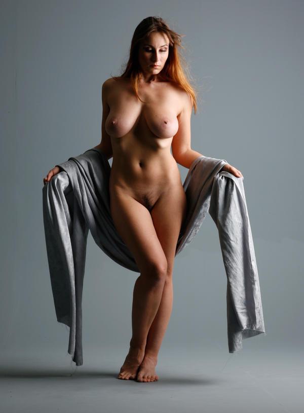 Naked mature art granny