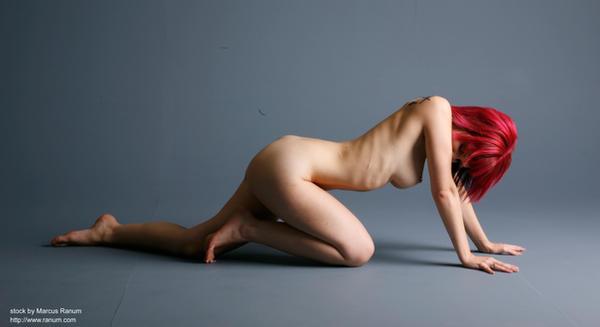 Art nudes - Y - 4 by mjranum-stock